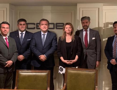 El Director General de CEOE Internacional y Secretario Permanente de CEIB se reunieron con delegación chilena en CEOE