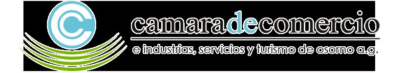 Cámara de comercio e industrias, servicios y turismo de Osorno A.G. Logo