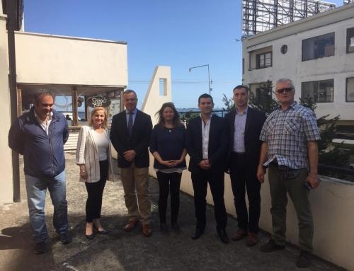 Empresa rusa AZUR NIVA y Cámara de Comercio de Osorno visitan empresa y gremio en Puerto Montt