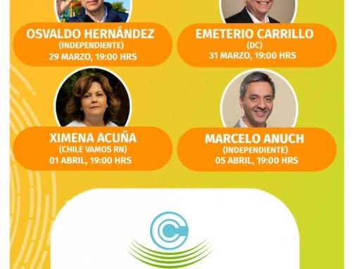 Cámara de Comercio Osorno inicia ciclo de conversatorios con candidatos a alcalde por Osorno para conocer sus propuestas de trabajo