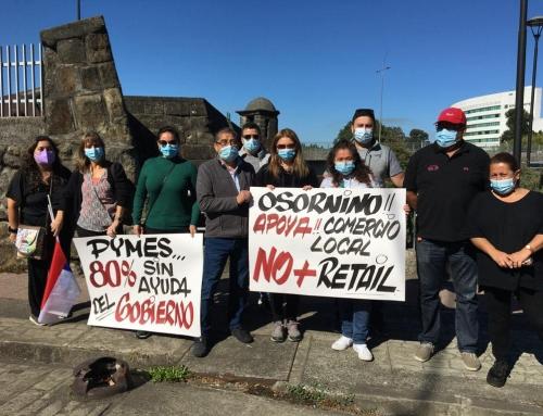 Agrupación de Emprendedores Unidos Osorno manifestó estar al borde del colapso emocional y económico por extensa cuarentena