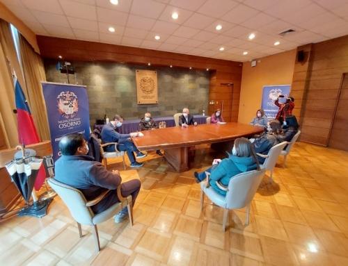 Cámara de Comercio Osorno como parte de la Agrupación de Emprendedores Unidos se reunieron con Abastible y Gasco para ver medidas a favor de los emprendedores